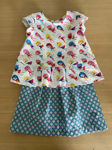 Making the Oliver+S 'Butterfly Blouse and Skirt' Pattern - Hints & Tips