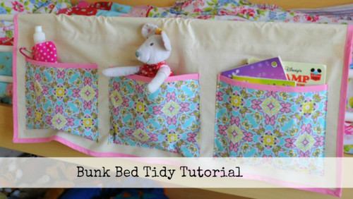 Bunk Bed Tidy Tutorial