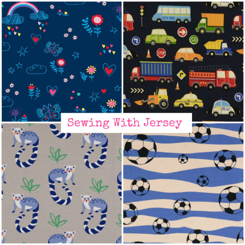 Sewing with Jersey - Hints & Tips
