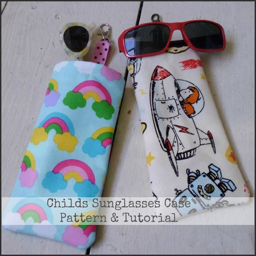 Child's Sunglasses Case Tutorial