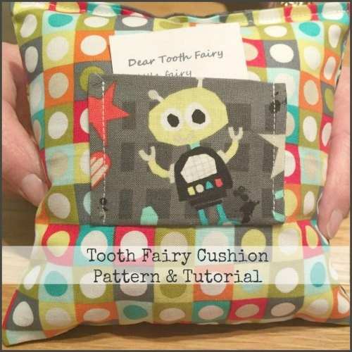 Tooth Fairy Cushion Tutorial