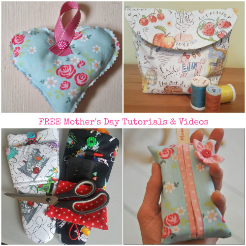 Mothers Day Inspiration - Free Tutorials