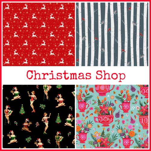 Christmas Fabrics & Tutorials