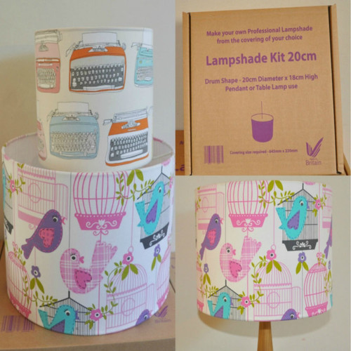 GREAT GIFT - Lampshade Making Gift (30cm Kit)