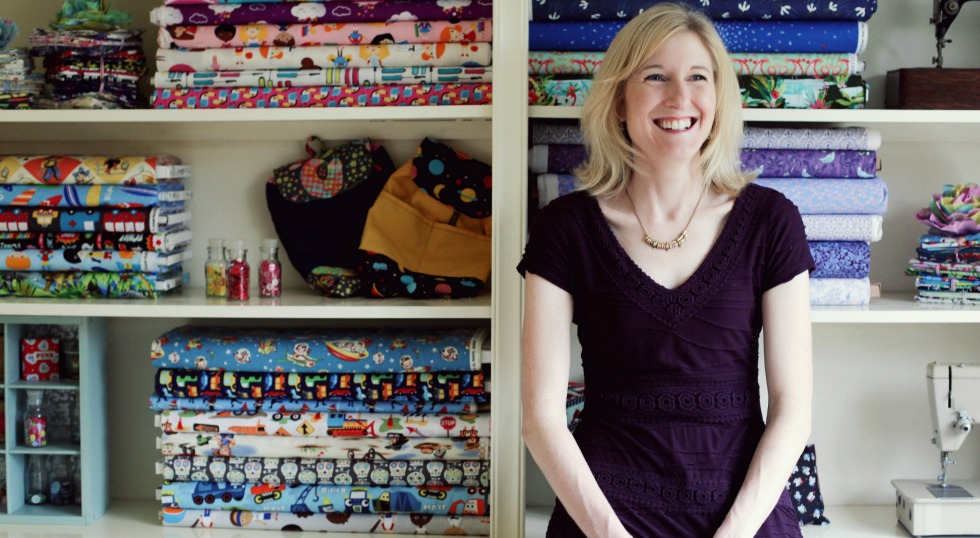 A range of quirky and colourful cotton fabrics from Sew Scrumptious Fabrics