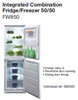 50/50 Split Fridge Freezer