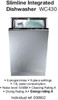 Fully Integrated 45cm Dishwasher (full height door)