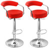 Pair of Zenith Bar Stools Red