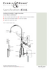 Perrin & Rowe Parthian 4346 (with Rinse) Kitchen Tap