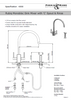 Perrin & Rowe Rubiq 4308 With Rinse Kitchen Tap
