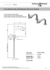 Perrin & Rowe Cirrus Deck Mounted 4832 Kitchen Tap