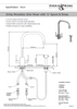 Perrin & Rowe Orbiq 4314 (With Handrinse) Kitchen Tap