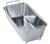 Franke KBX11016 Handled Strainer bowl St/steel 112.0014.122