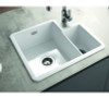 Thomas Denby Metro (1.3 Bowl) Sink with Overflow