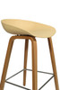 Cream Equator Bar Stool