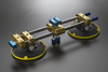 Minerva Travertine Haze Acrylic Accessories Adjustable seam setter each (2 suction clamps)