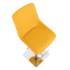 Magnifico Signature Real Leather Bar Stool Mustard
