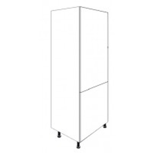 Paris Matt Grey Built In 70/30 Fridge Freezer Unit