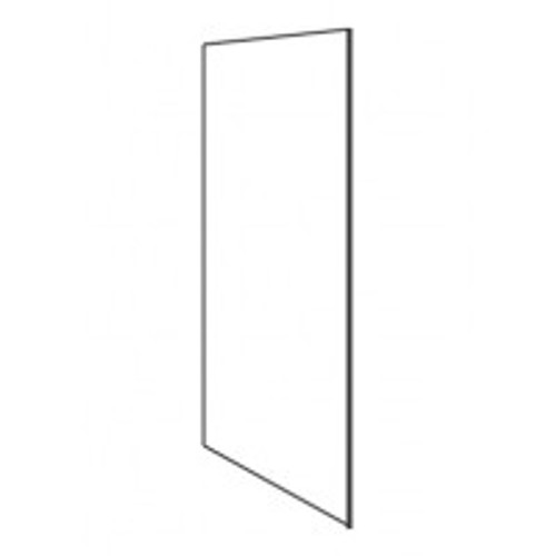 Capri White 704 x 350 x 16mm Plant-On End Wall