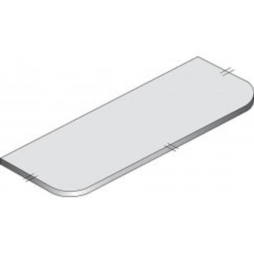 Maia Cappuccino Worktop (240mm Radius) - 1800 x 650 x 42mm/28mm