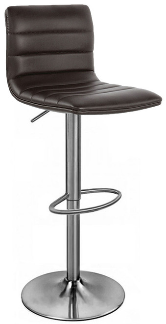 Aldo Brushed Bar Stool Brown