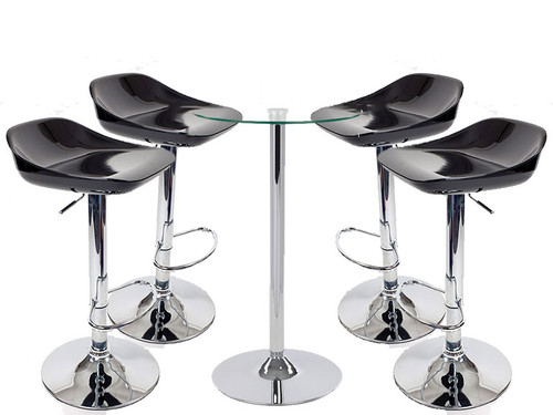 Zenith Bar Stools Como Table Package Comfortable Stable