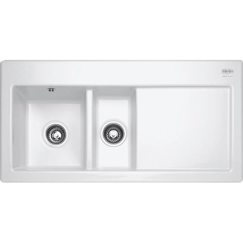 Franke Mythos MTK651 Ceramic White Kitchen Sink