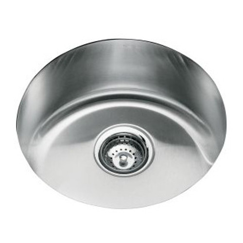 Kohler Icerock Single Bowl 462mm Diameter Kitchen Sink