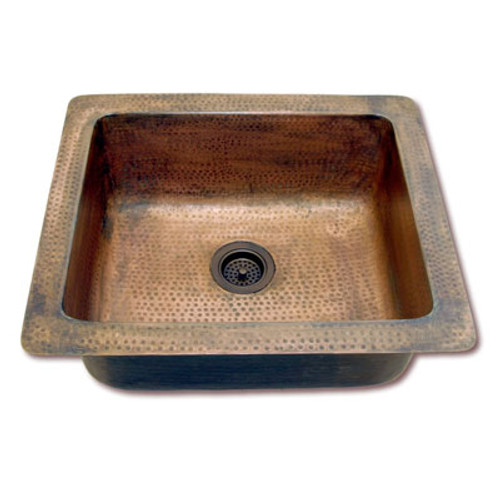 Eclectica Loire Copper Kitchen Sink