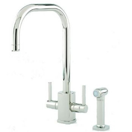 Perrin & Rowe Rubiq 4310 With Rinse Kitchen Tap