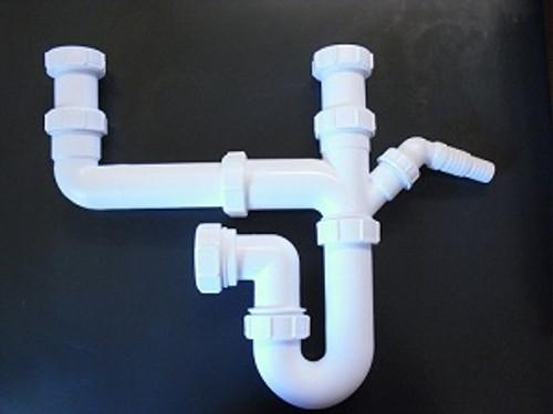 McAlpine Universal Double Bowl Plumbing Kit