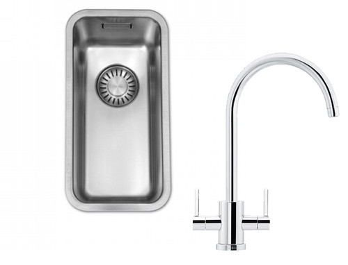 Franke Kubus KBX110 20 Kitchen Sink with Krios J Tap Pack