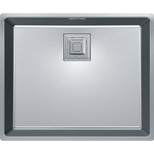Franke Centinox Undermount Large Bowl Complete with template and waste Stainless Steel 122.0360.019