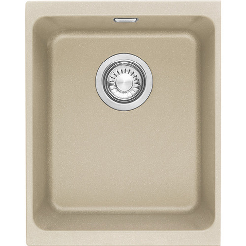 Franke Kubus Fragranite Undermount Main Bowl Complete with template - clips and waste 125.0