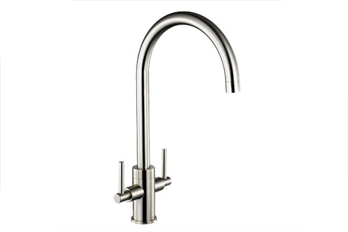 1810 Curvato Slim Lever Kitchen Sink Tap with Curved Spout