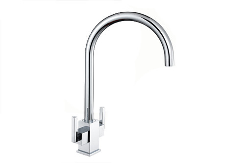 1810 Ruscello Square Body Slim Lever Kitchen Tap