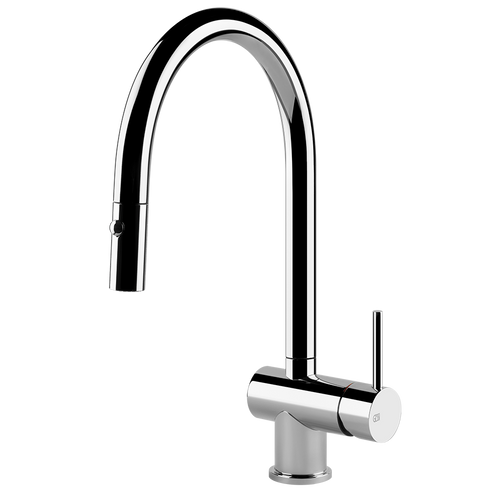 Gessi OXYGEN Curved Pull-Out Spout Tap