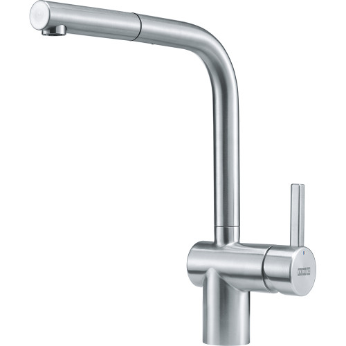 Franke Atlas Neo Stainless Steel Pull-Out Nozzle Kitchen Tap