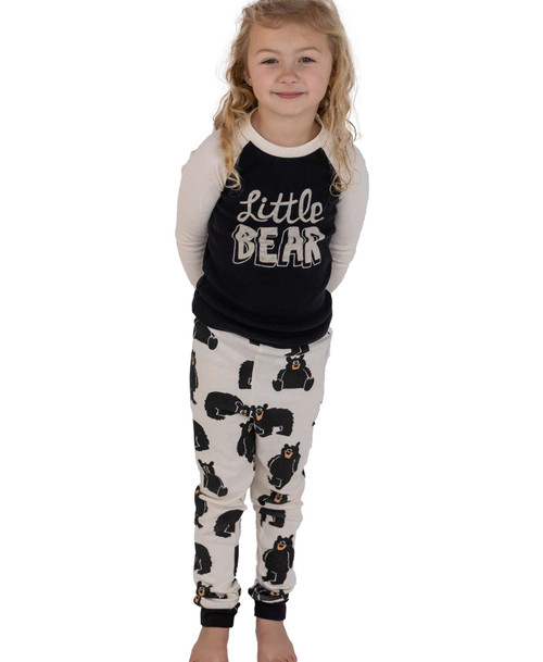 Little Bear Kids Long Sleeved  PJ'S