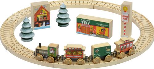 North Pole Village Railway Set