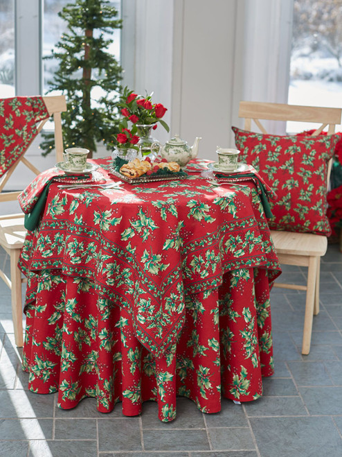 Holly Tablecloth by April Cornell
