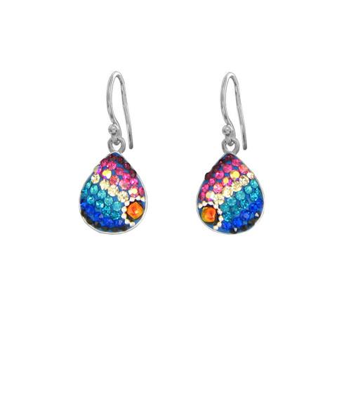 Mosaico Sterling Aurora Borealis Earrings