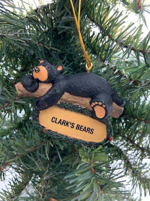 Clark's Bears Christmas Ornament