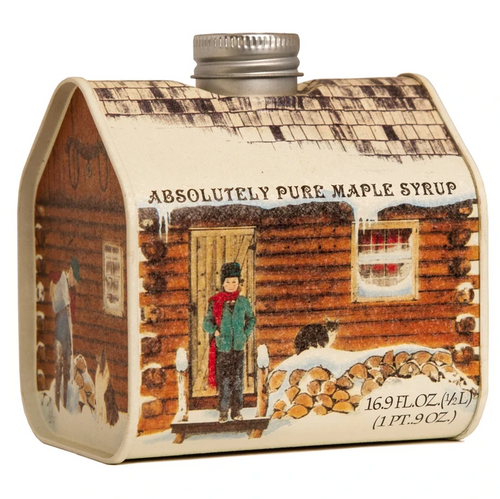 Pure Maple Syrup Log Cabin 16oz