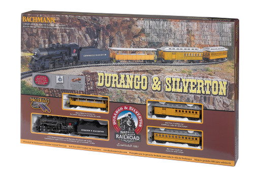Durango & Silverton HO Train Set by Bachmann