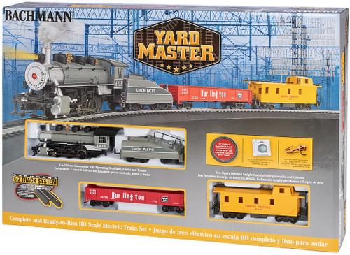 Yard Master Train Set HO Scale by Bachmann