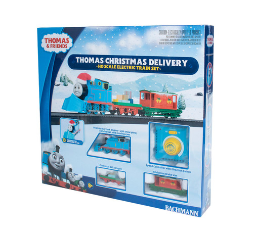 Thomas Christmas Delivery Train Set HO Scale by Bachmann