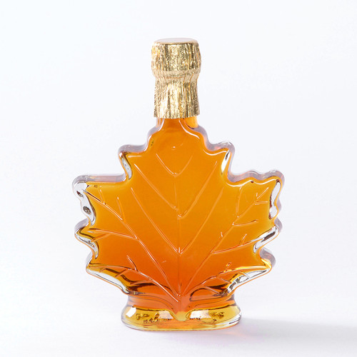 Pure Maple Syrup Leaf Decanter 3.4 oz.