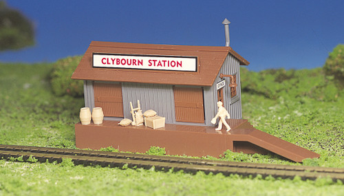 Freight station Plasticville Kit HO Scale