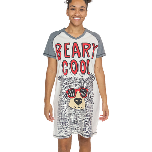 Beary Cool Nightshirt by Lazy One